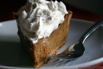 pumpkin pie picture