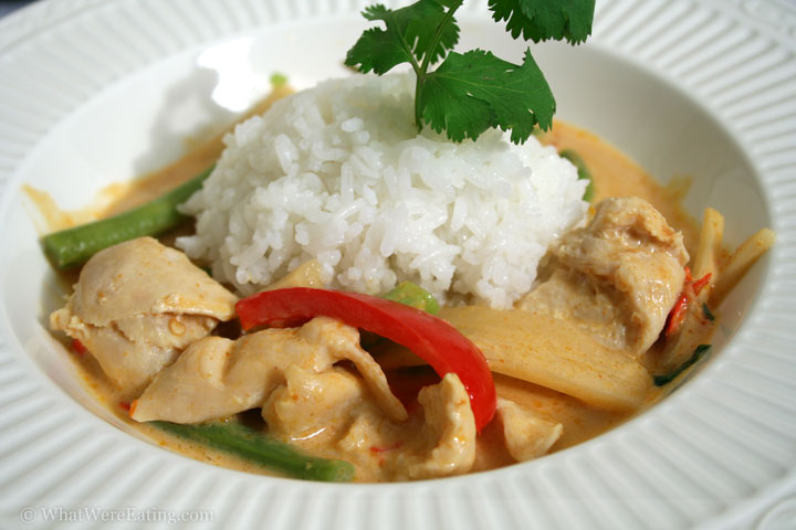 I had been looking at panang curry chicken for years