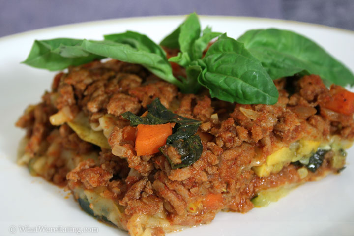 Thai Fusion Lasagna