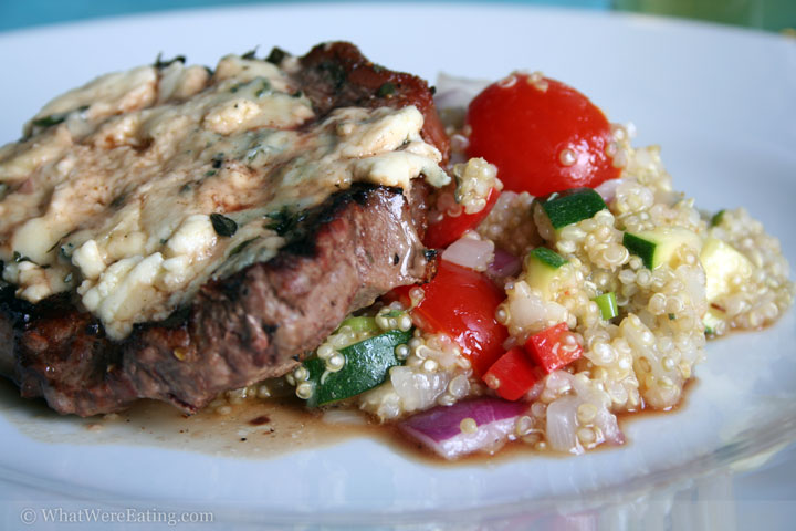 New York Strip Quinoa Salad