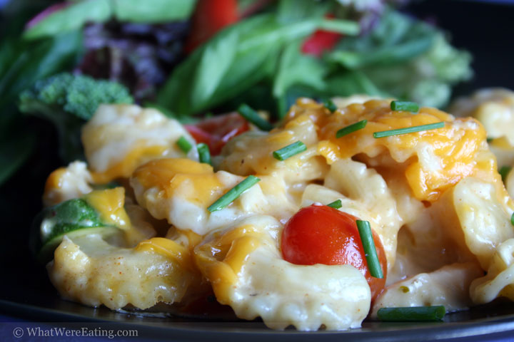 chicken macaroni cheese
