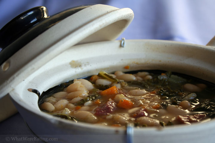 Navy Bean and Kale Soup