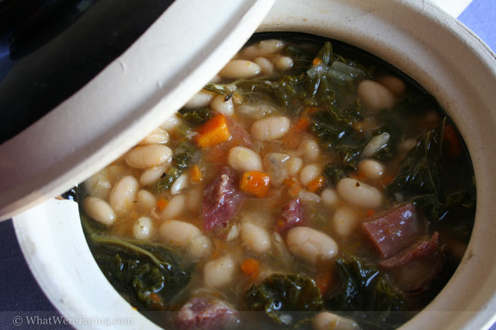 A Rustic Bean, Kale, and Turkey Soup « What Were EatingA Food
