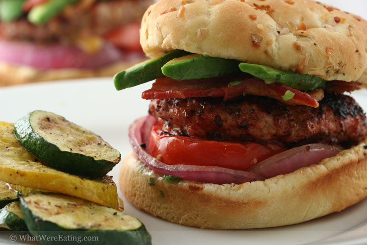 Turkey and Pork Burger