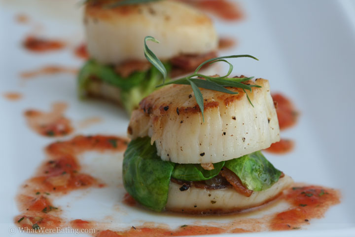 Sea Scallop Sandwiches