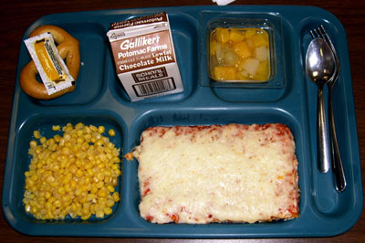 Pizza School Lunch