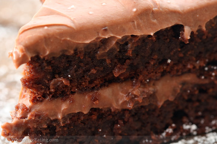 Spicy Chipotle Chocolate Cake