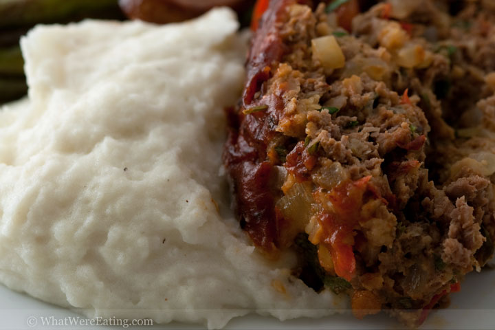 Spicy Chipotle Glazed Meatloaf