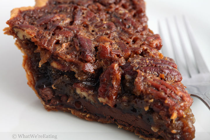 Nutella Bottomed Pecan Pie