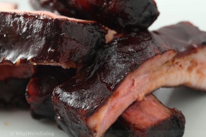Blueberry Chipotle Stout Baby Back Ribs