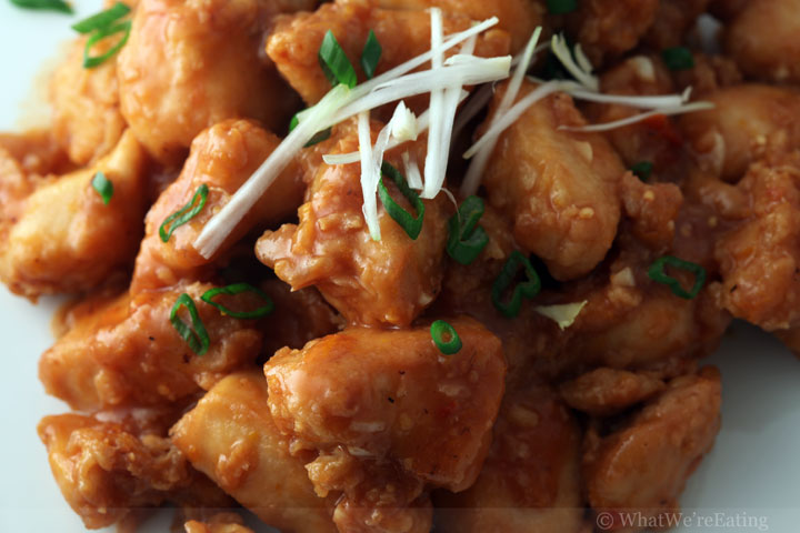 Blood Orange Chicken