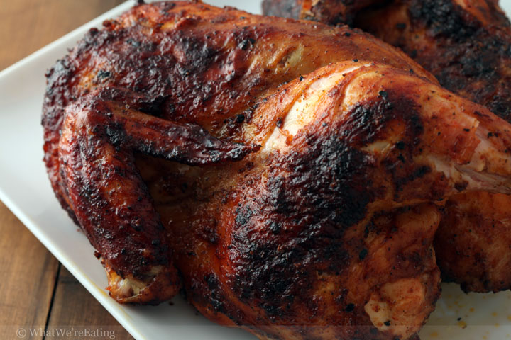 Tequila, Chipotle and Citrus Smoked Chicken