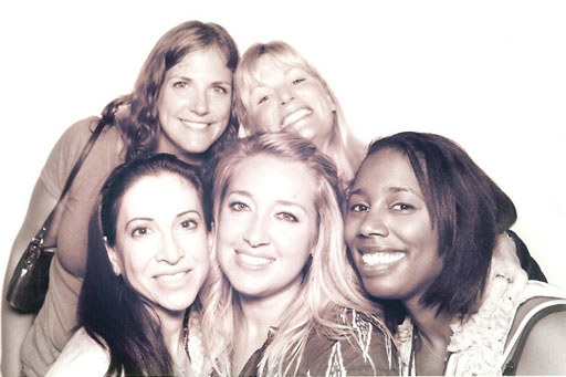 Marla, Jenny, Kathy, Lori and Amanda