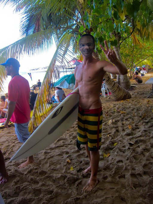 carloz lopez halloween surfer costume
