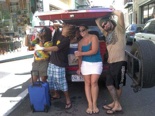 more tailgating in old san juan