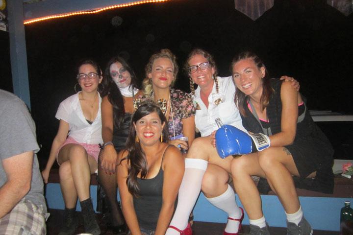 el bohio, rincon, puerto rico, halloween 2012