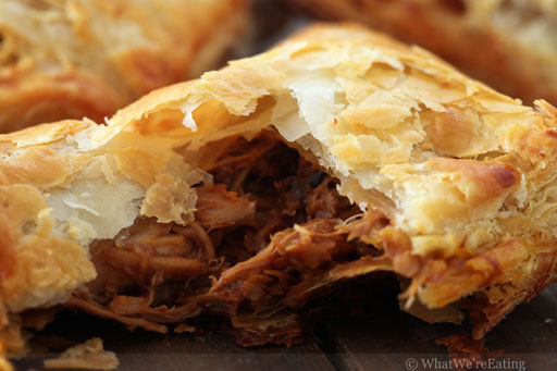 Tangy Bbq Chicken Turnovers