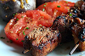 Marinated Pork Tenderloin Kabobs