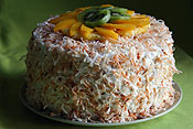 Tropical Coconut Cake