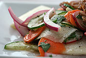 Sliced Veggie Salad