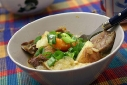 Pot Roast Sprinkled with Green Onions