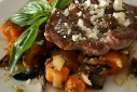 Lamb Steak with Rosemary Hashbrown Sweet Potatoes