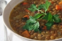 Lentil and Smoked Pork Soup