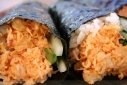 Spicy Mussel Hand Rolls