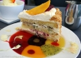 Passion Fruit Ricotta Torte