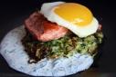 Zucchini Pancakes, Sockeye Salmon, and A Little Sun