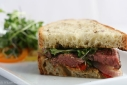 Rosemary and Garlic Marinated Grilled Lamb Sandwich