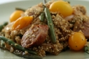 Hot Sausage Quinoa Salad