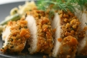 Cheez-it encrusted chicken