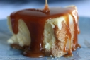 Caramel-dripped Cheesecake
