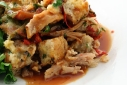 Turkey & Sun-dried Tomato Bread Pudding