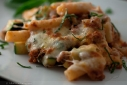 Baked Rigatoni in Turkey Bolognese