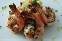 Lemon Herb Grilled Shrimp with Quinoa Salad
