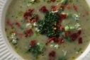 Cheesy Potato, Broccoli & Piquillo Pepper Soup