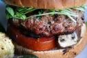 Chaumes and Sundried Tomatoes Stuffed Turkey Burgers