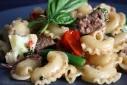 Turkey Sausage and Veggie Pasta