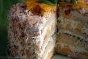 a piece of Tropical Coconut Cake