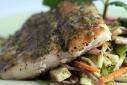 Fresh Red Snapper w/ Jicama Salad