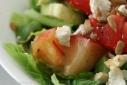 Peach & Goat Cheese Salad