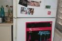 Outside of amanda simpson's fridge